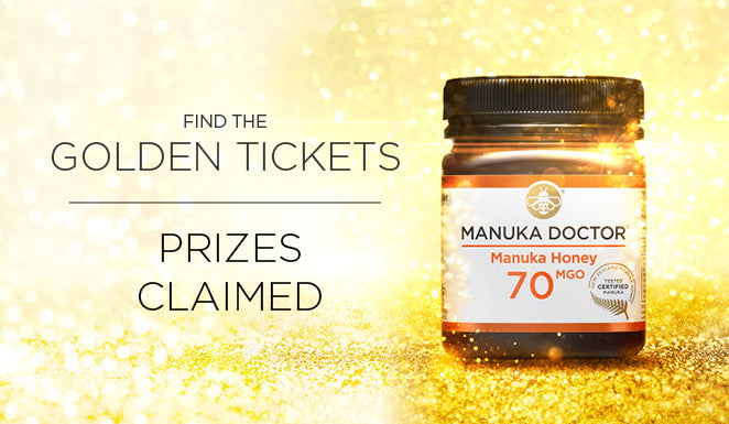 Manuka Doctor 'Golden Ticket' Promotion May 2019: Prizes Claimed