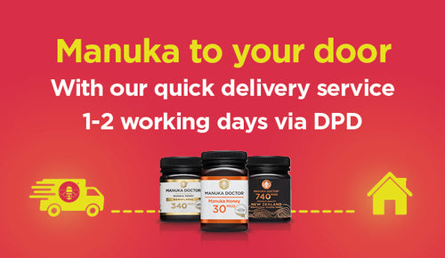 Manuka to your door - quickly, easily and reliably