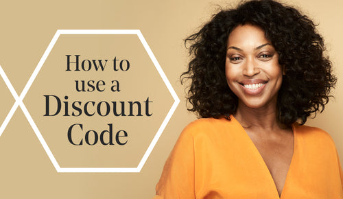 How to use your discount code