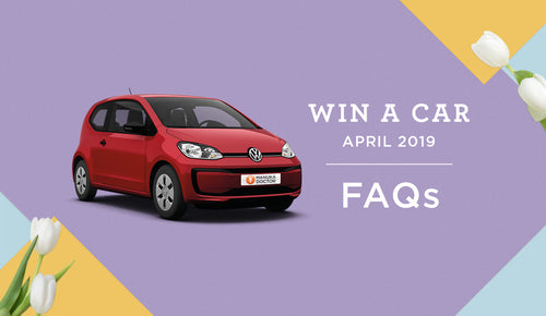 Win a Car Easter 2019: FAQs