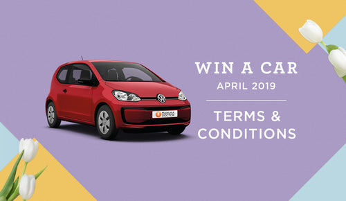 Win a Car Easter 2019: Terms & Conditions