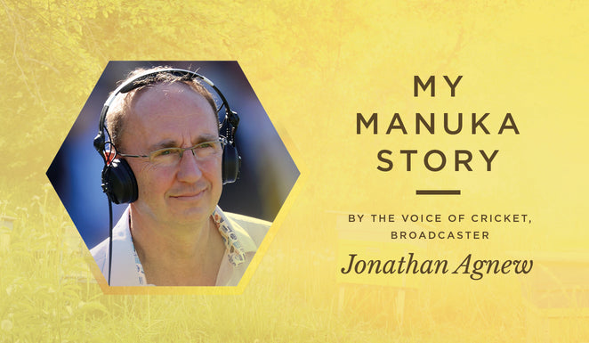 How Manuka Honey soothes the voice of Mr. Cricket