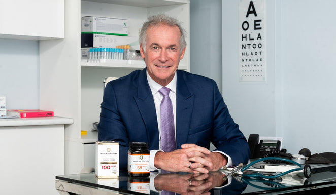 Government experts & TV's Dr Hilary Jones are recommending Manuka honey this Winter