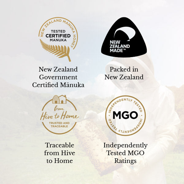Certified New Zealand Manuka Honey