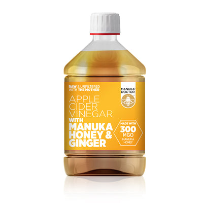 Apple Cider Vinegar with Manuka Honey & Ginger