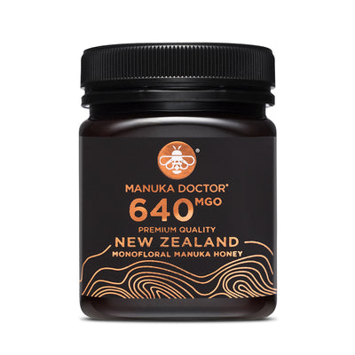 640 MGO Active Mānuka Honey 250g