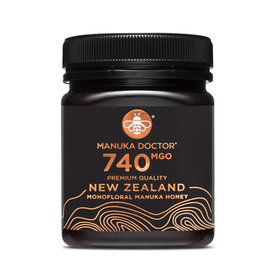 740 MGO Active Mānuka Honey 250g