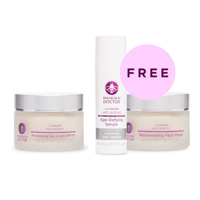 ApiNourish Revitalising Day Cream SPF15 + FREE Gifts
