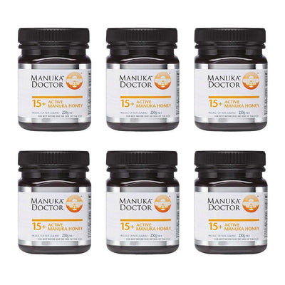 15+ TA Manuka Honey 250g - 6 Pack