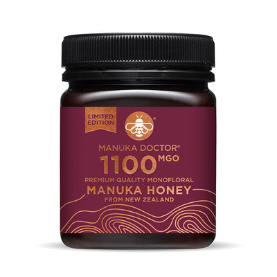 1100 MGO Active Mānuka Honey 250g