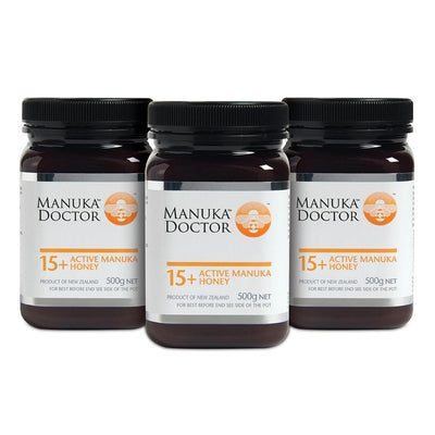 15+ TA Manuka Honey 500g - Trio Pack