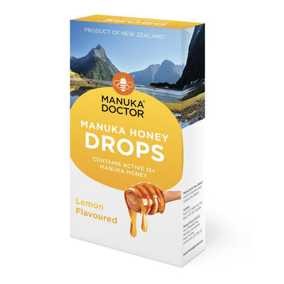 Lemon Mānuka Honey Drops