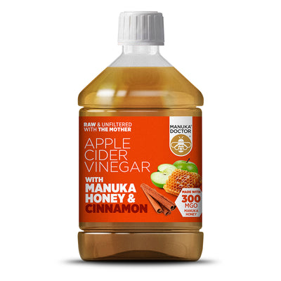 Apple Cider Vinegar with Manuka Honey & Cinnamon