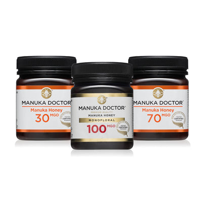 MGO Mānuka Honey Trio Pack