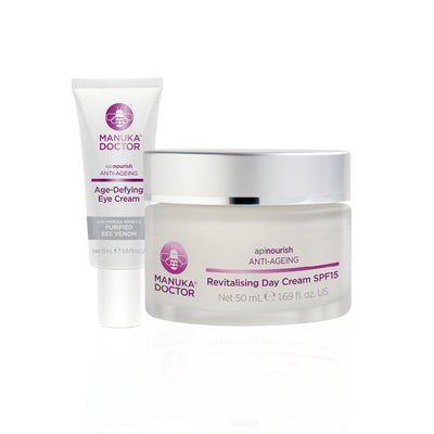 ApiNourish Day Cream & Eye Cream Duo