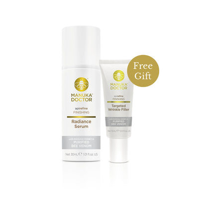 ApiRefine Radiance Serum + Free Targeted Wrinkle Filler