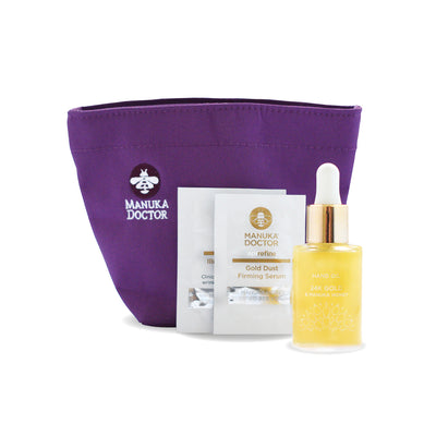 24K Gold & Manuka Honey Hand Oil Gift Set