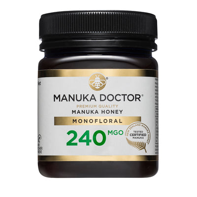 Manuka Doctor 240 MGO Manuka Honey 250g