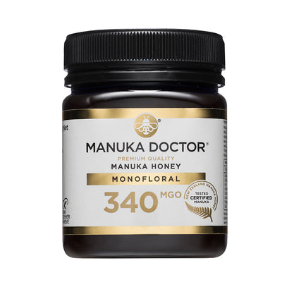 Manuka Doctor 340 MGO Manuka Honey 250g