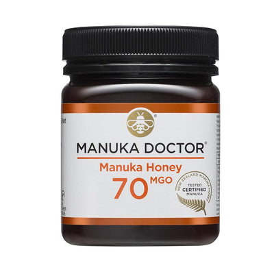 Manuka Doctor 70 MGO Manuka Honey 250g
