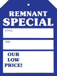 518 Remnant Special Blue