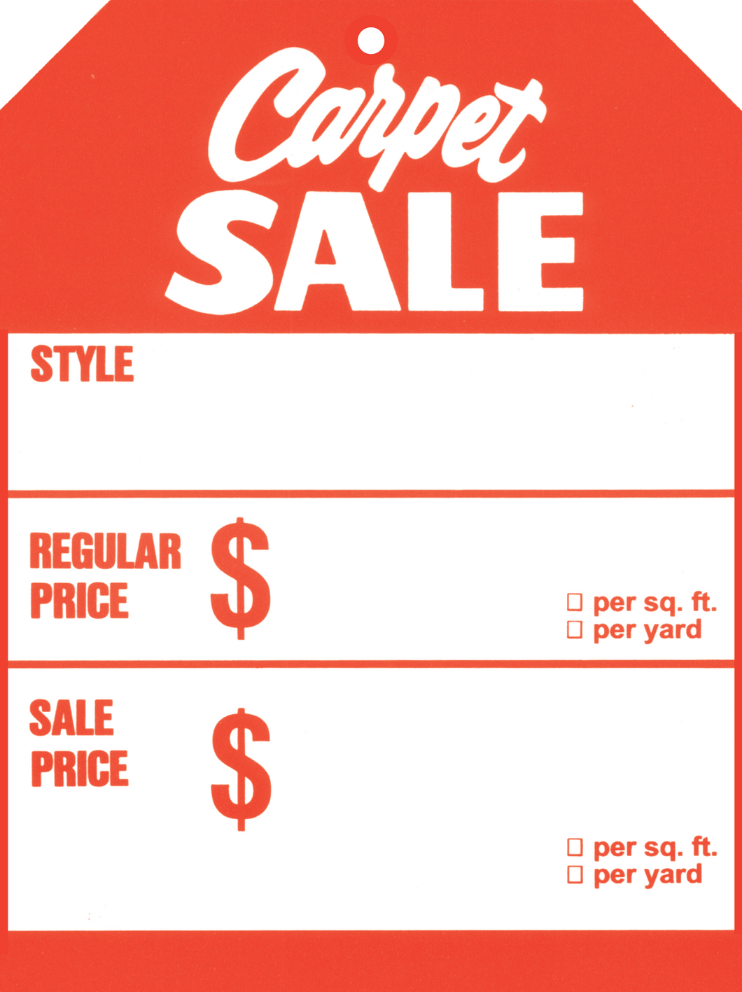 519 Carpet Sale
