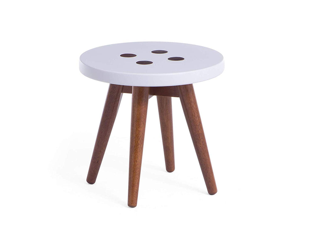 "Memomad Biscoito Fino Side Table 14"" (Off White) - memomad.store"