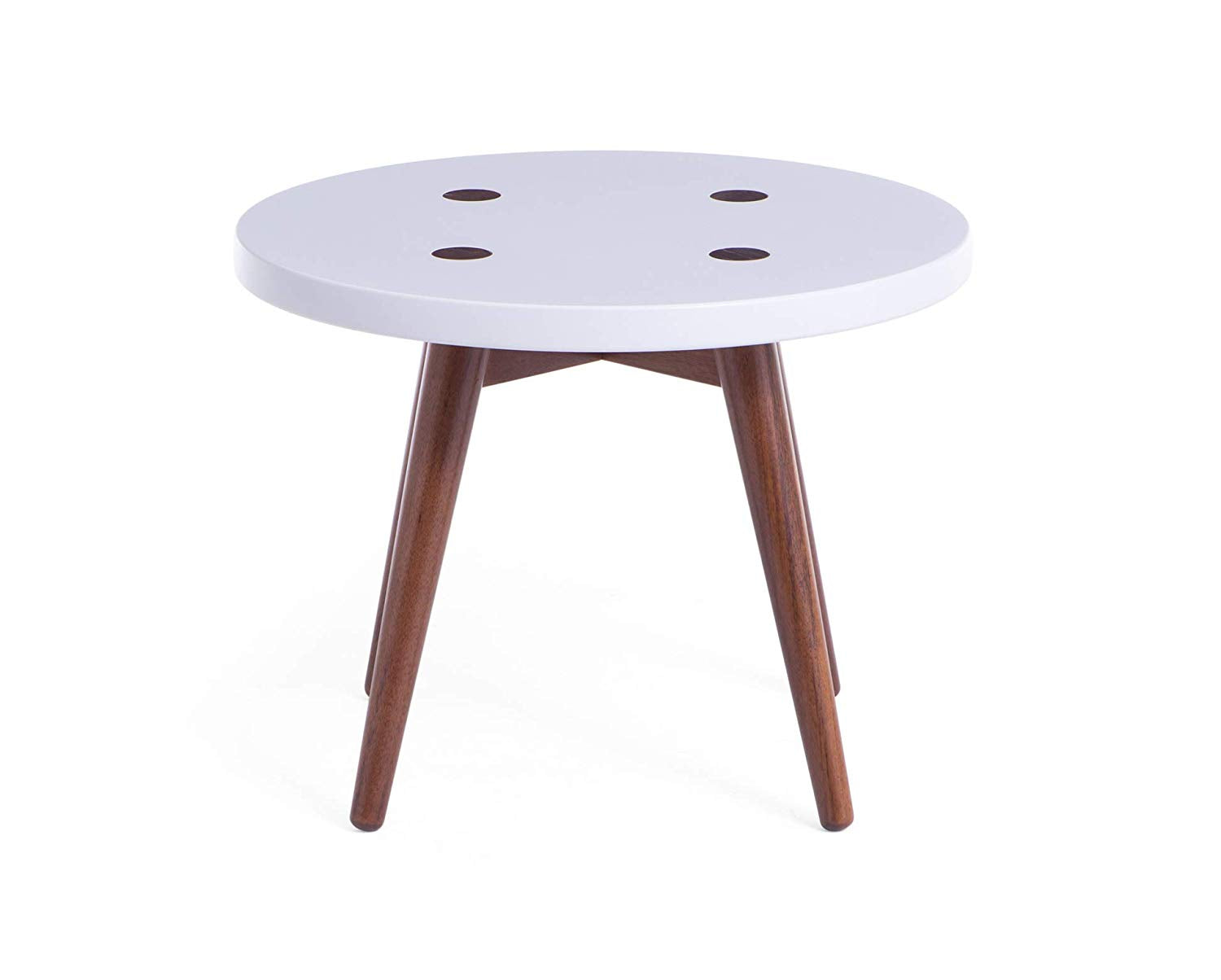"Memomad Biscoito Fino Side Table 20"" (Off White) - memomad.store"