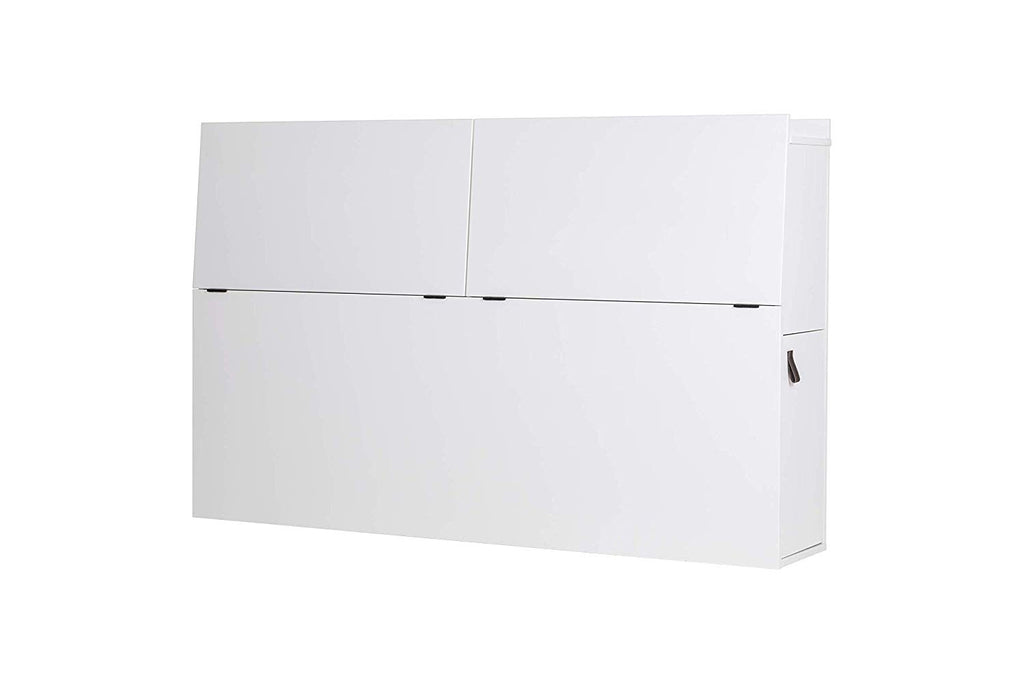 Memomad Bali Storage Headboard (Queen Size, Off White) - memomad.store