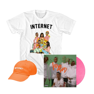 HIVE MIND LP + TEE + HAT BUNDLE - Internet Official Store