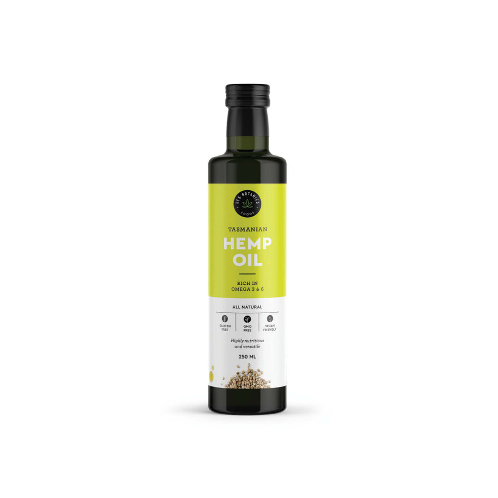 ECS Botanics Australian Hemp Seed Oil Cold Pressed