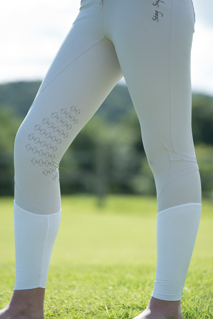 Pearl Grey Luxe Pro Sport Breeches
