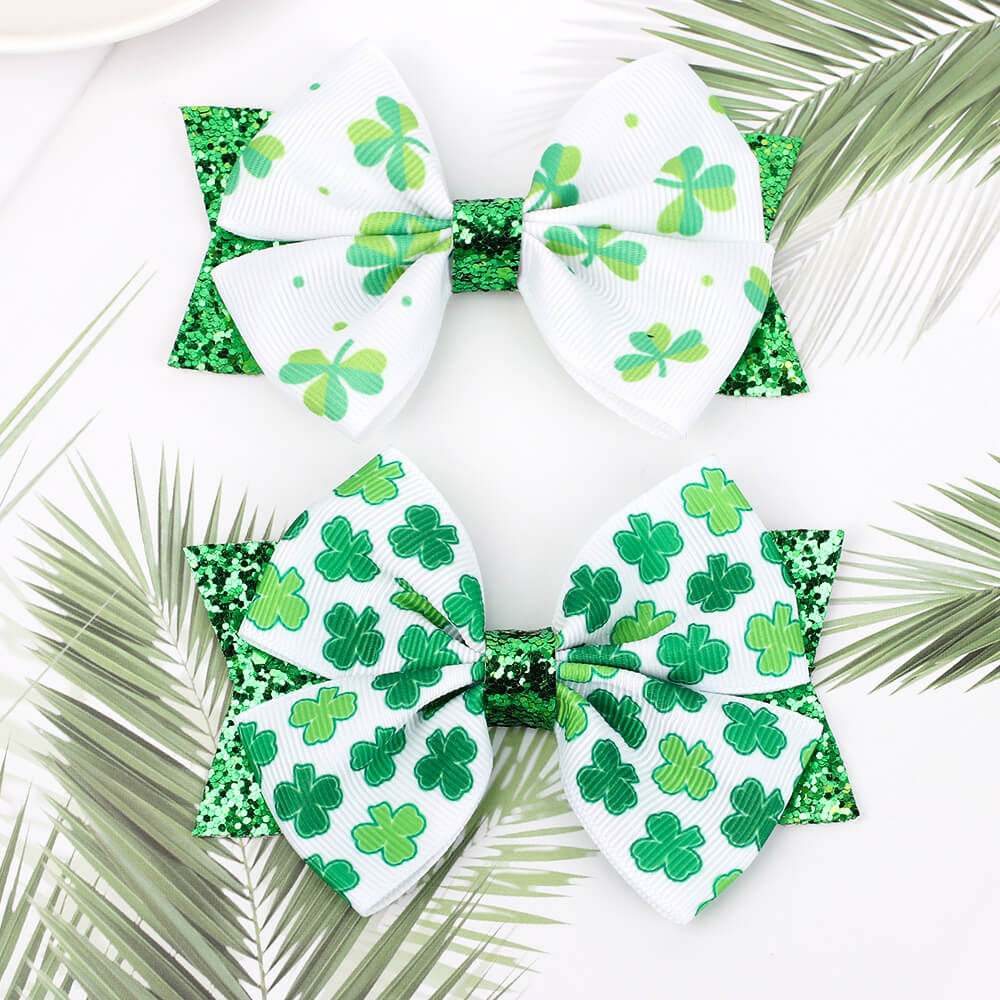 St. Patrick's Day Hair Clips