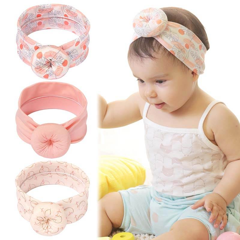 Soft Nylon Baby Headband