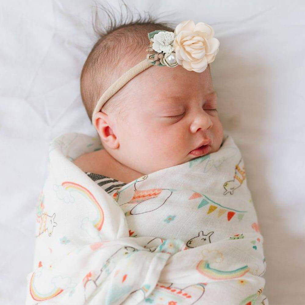Fake Floral Baby Girls Headbands