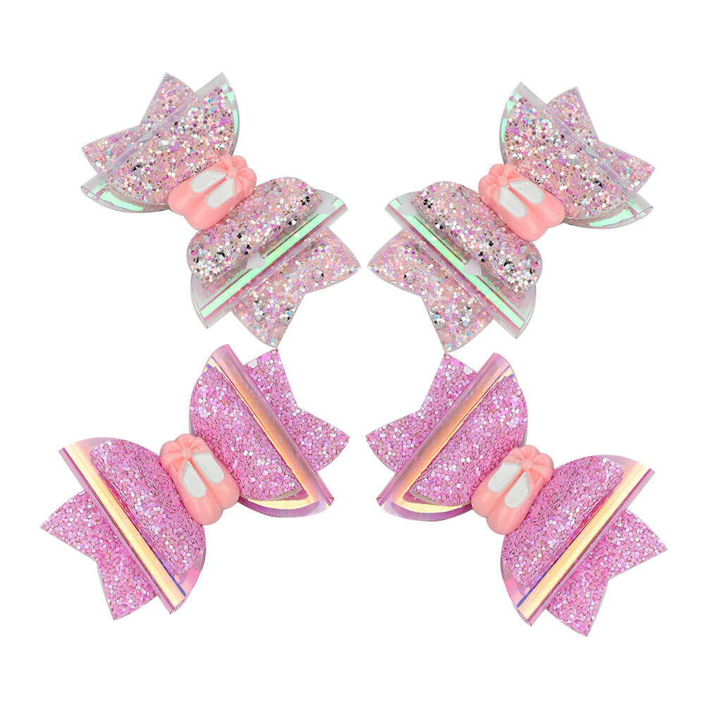 Glitter and Jelly Hair Clips