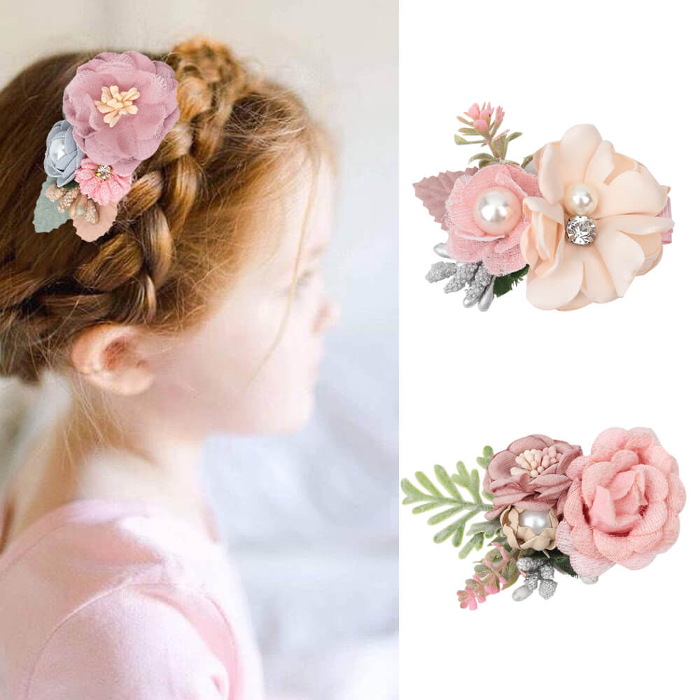 Baby girls hair clips