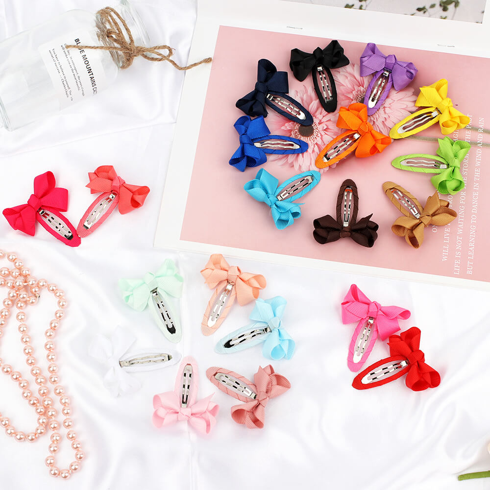 cute bow hairpins