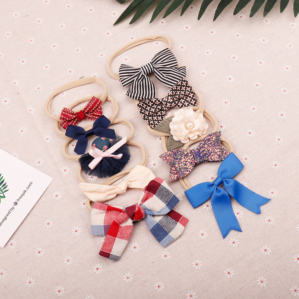 Baby Headbands | Elastic Nylon Hair Bands for Newborn