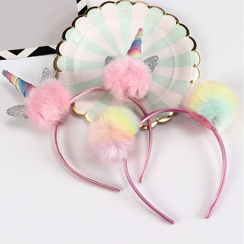 Pompom Cat Ear Hair bands