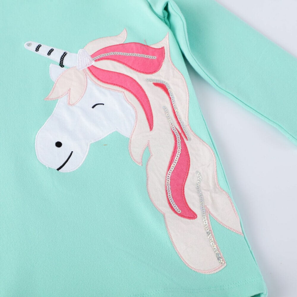 unicorn girl dress