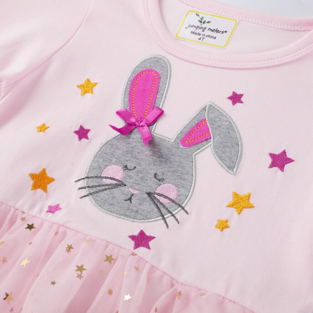 Pink Bunny Girl Dresses