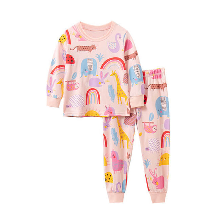 Girl Pajamas Set