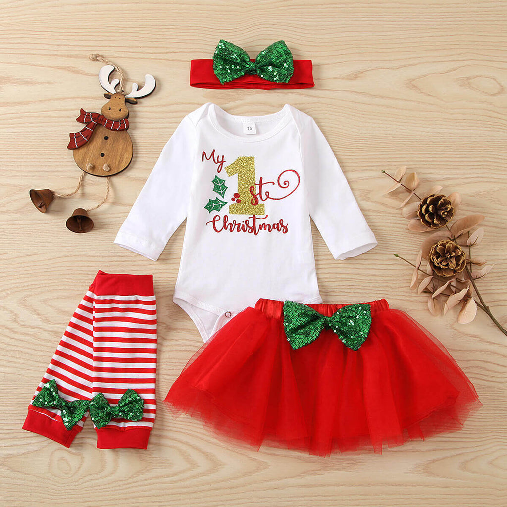 Christmas romper set