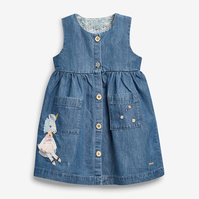 little girl Denim Dress