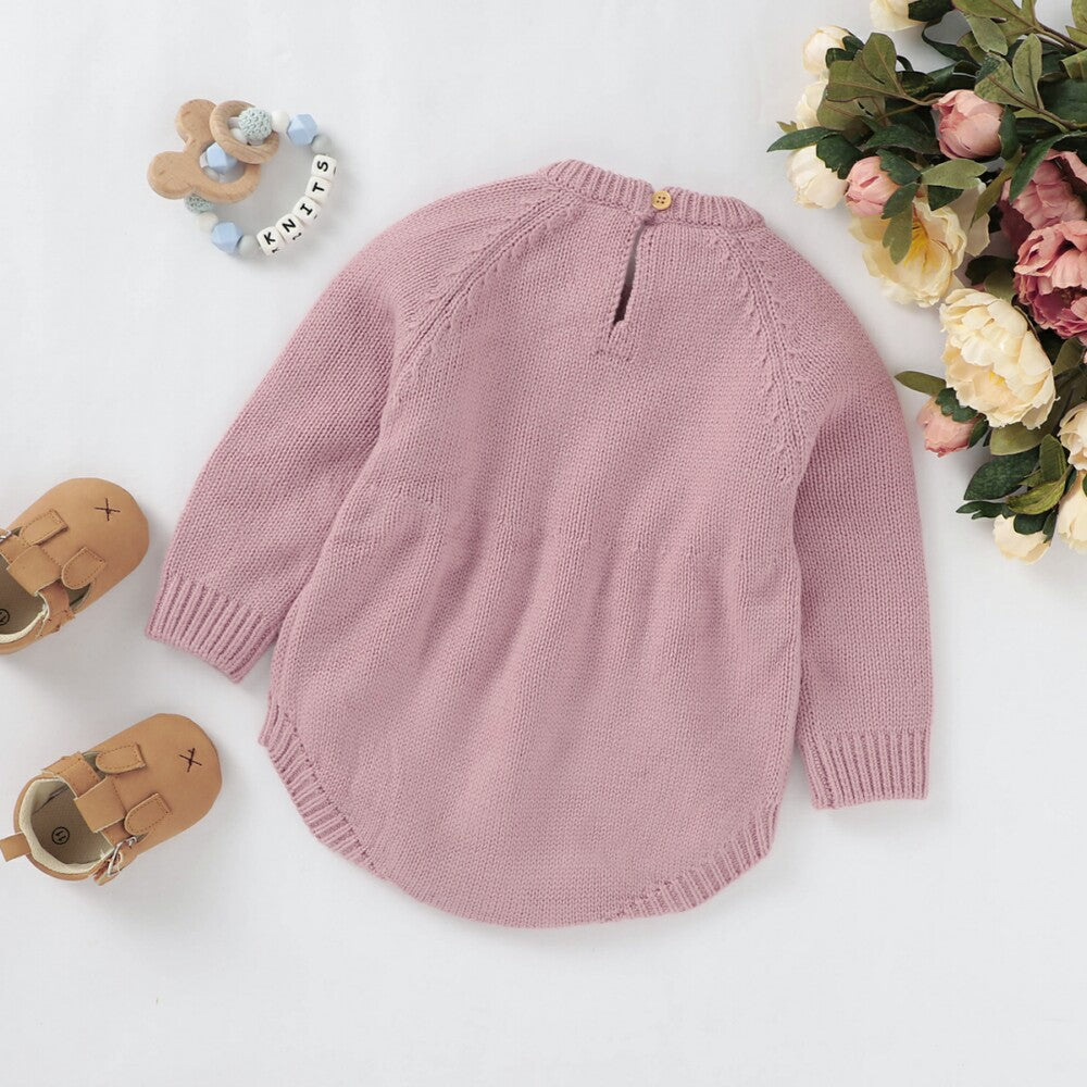 floral baby clothing
