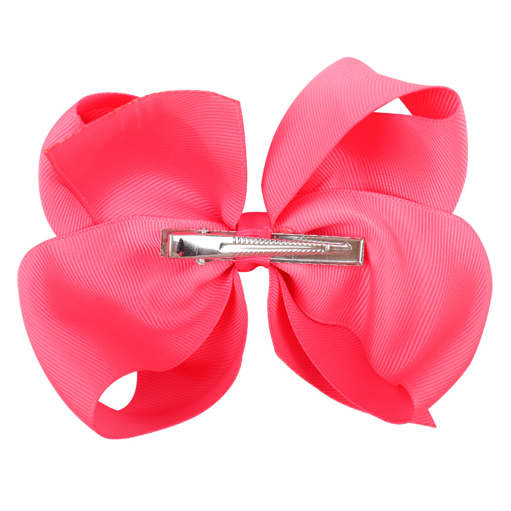 30pcs 6 inch Solid Color Hair Bows| Hair Bows Wholesale Suppliers
