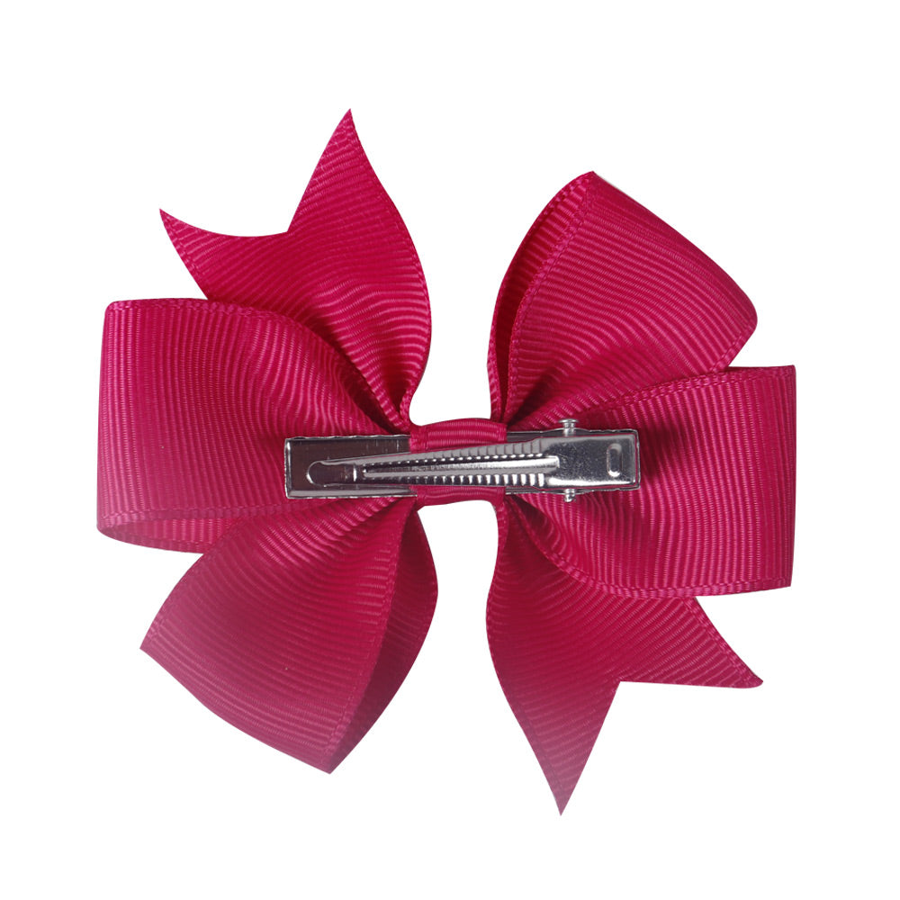 Baby Girl Bows | 40 colors 3 inch Pinwheel Girls Hair Bows