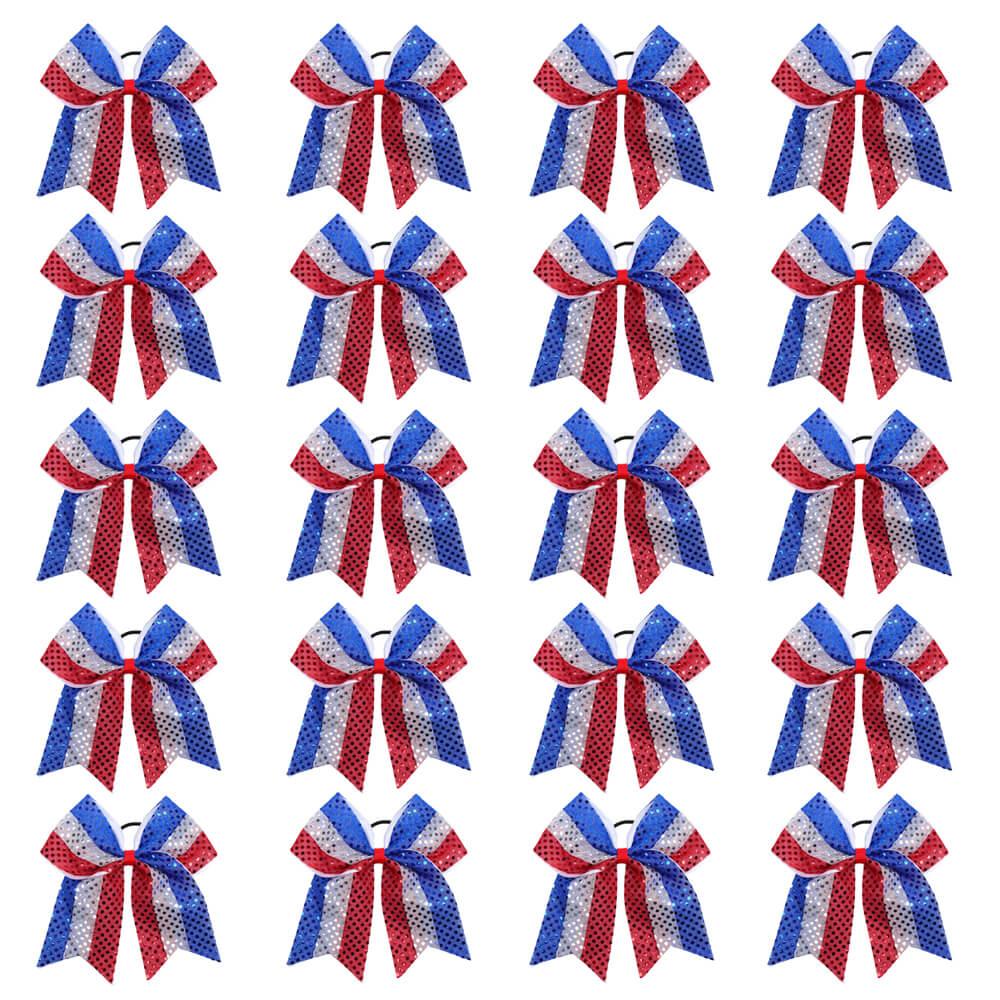4th of July Cheer Bow