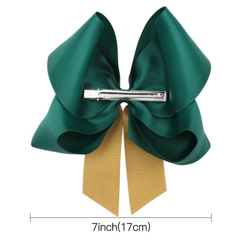 Christmas Double Layer Jojo Hair Bows